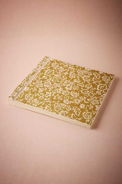 Gold Gilded Garden Photo Album  | BHLDN