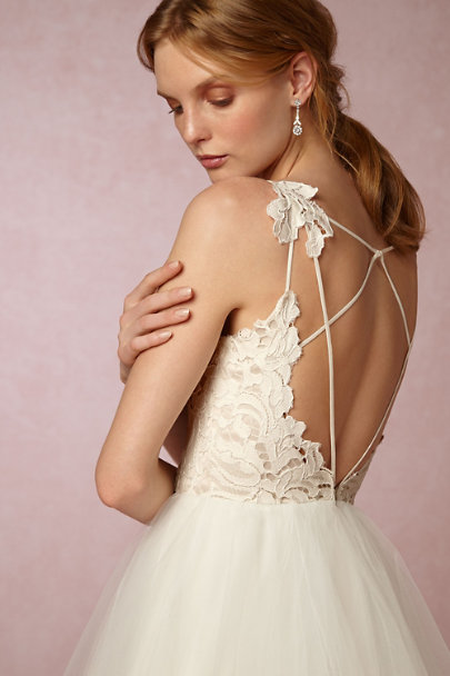 8d561e9924f ... Hayley Paige Ivory Champagne Hayden Gown
