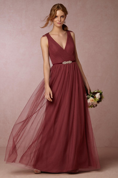 Watters Rusty Rose Pippa Dress | BHLDN