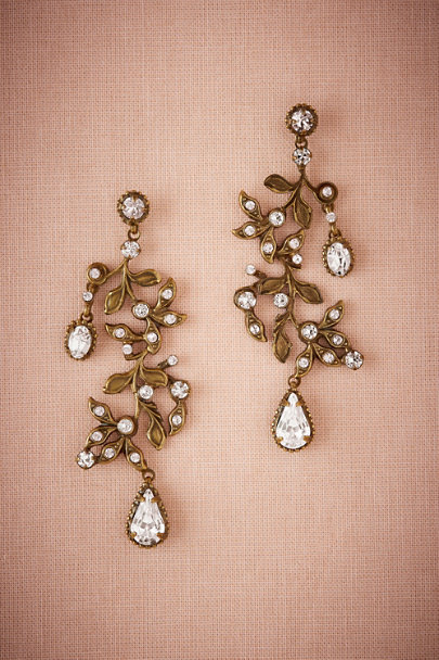 Sorrelli Gold Roseate Chandelier Earrings | BHLDN