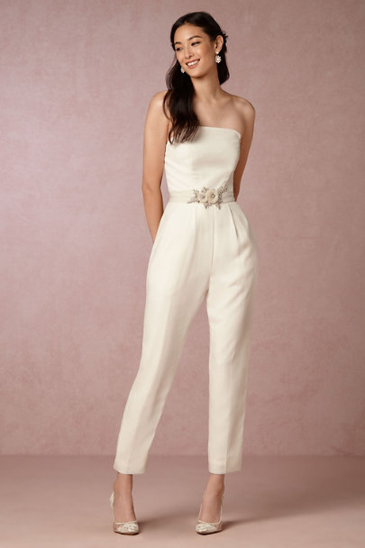 Langley jumpsuit in bride bhldn - Jumpsuit hochzeit ...