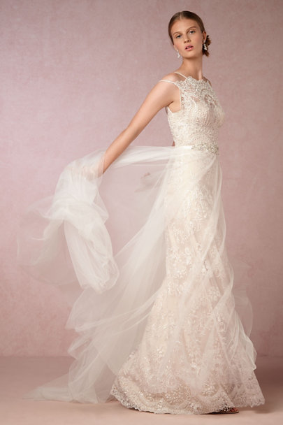 Catherine Deane Ivory/Champagne Lorelei Gown | BHLDN