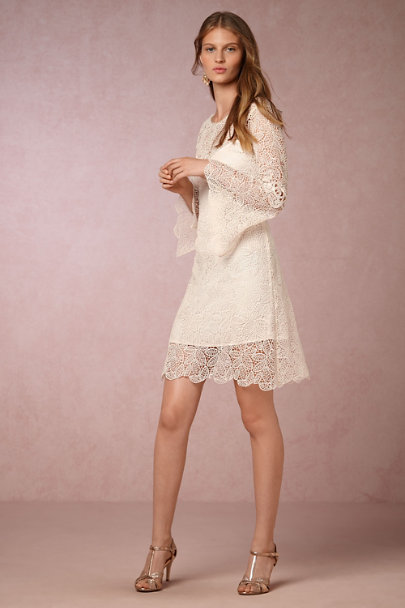 Yoana Baraschi Cream Brynn Dress | BHLDN