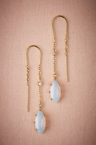Gold Adriana Opal Earrings | BHLDN