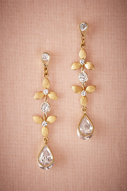 Amy O. Gold Meadow Drop Earrings | BHLDN