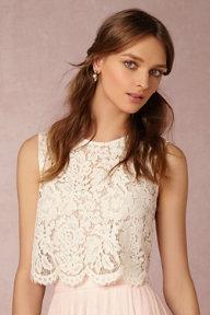 Create Your Own Wedding Dress   Bridal Separates   BHLDN