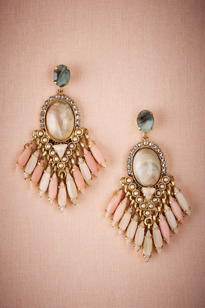 Elizabeth Cole Gold Tunia Earrings | BHLDN
