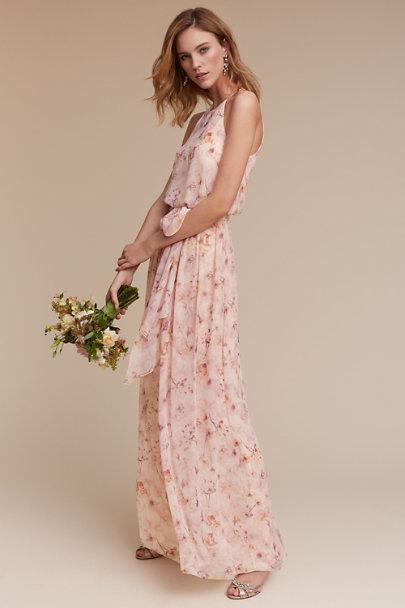 1f3936f5f3a ... Donna Morgan Blush Wildflower Alana Dress