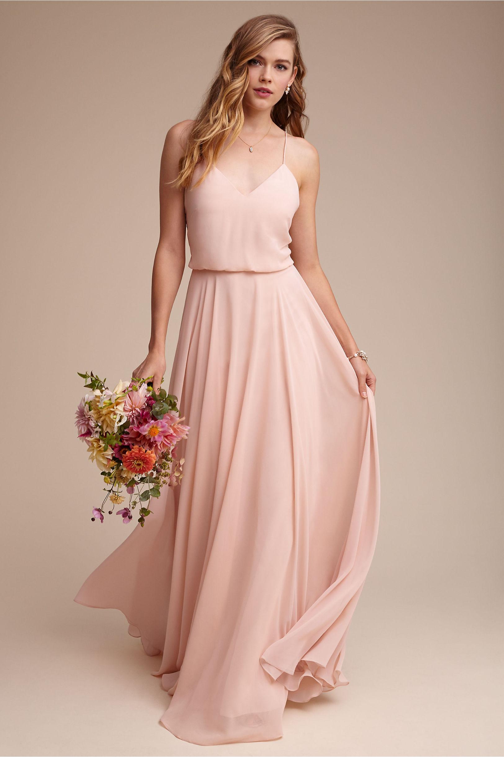 Inesse Dress Cinnamon Rose in Bridal Party | BHLDN