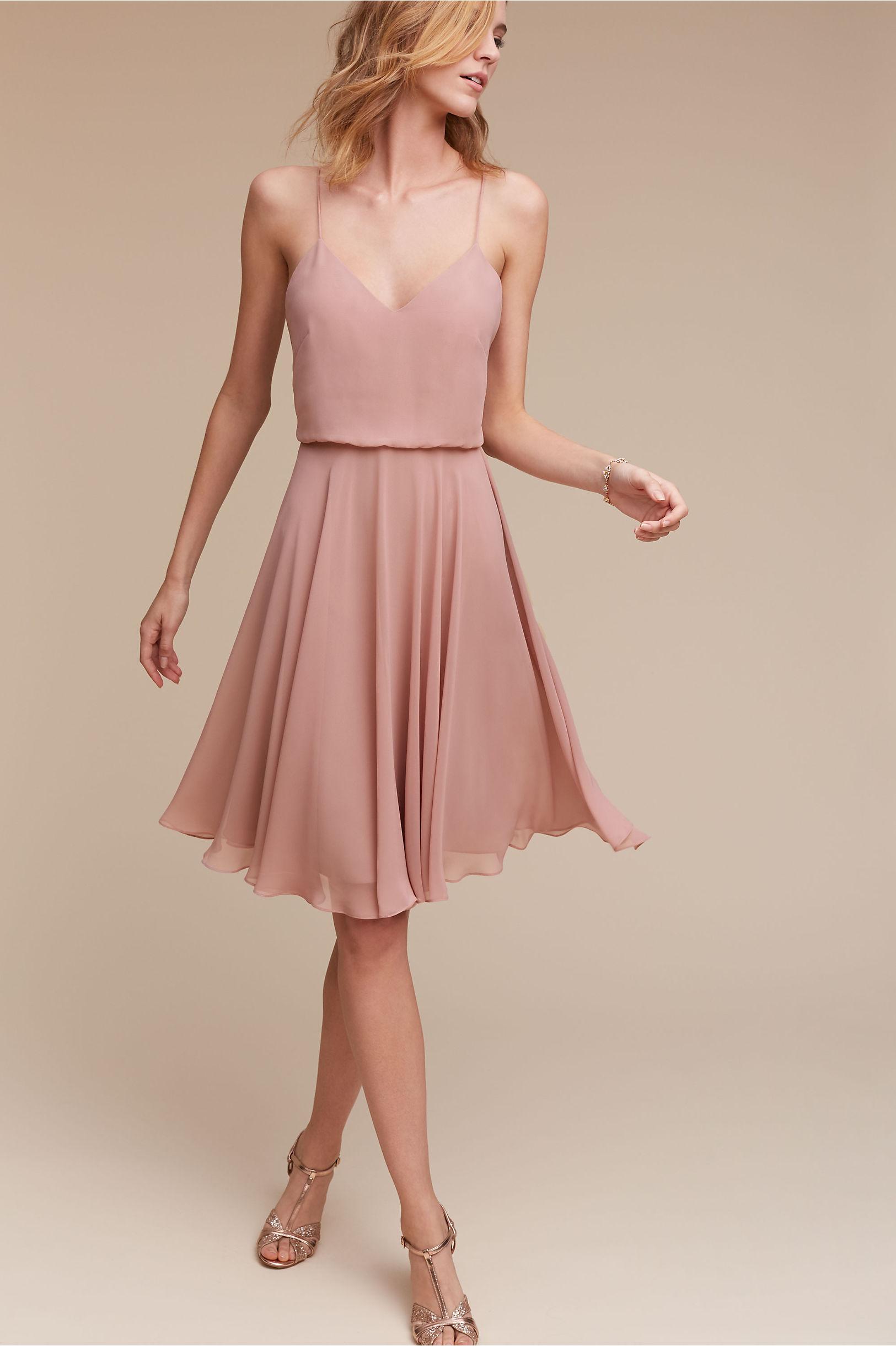 Sienna Dress Rose Quartz in Sale | BHLDN