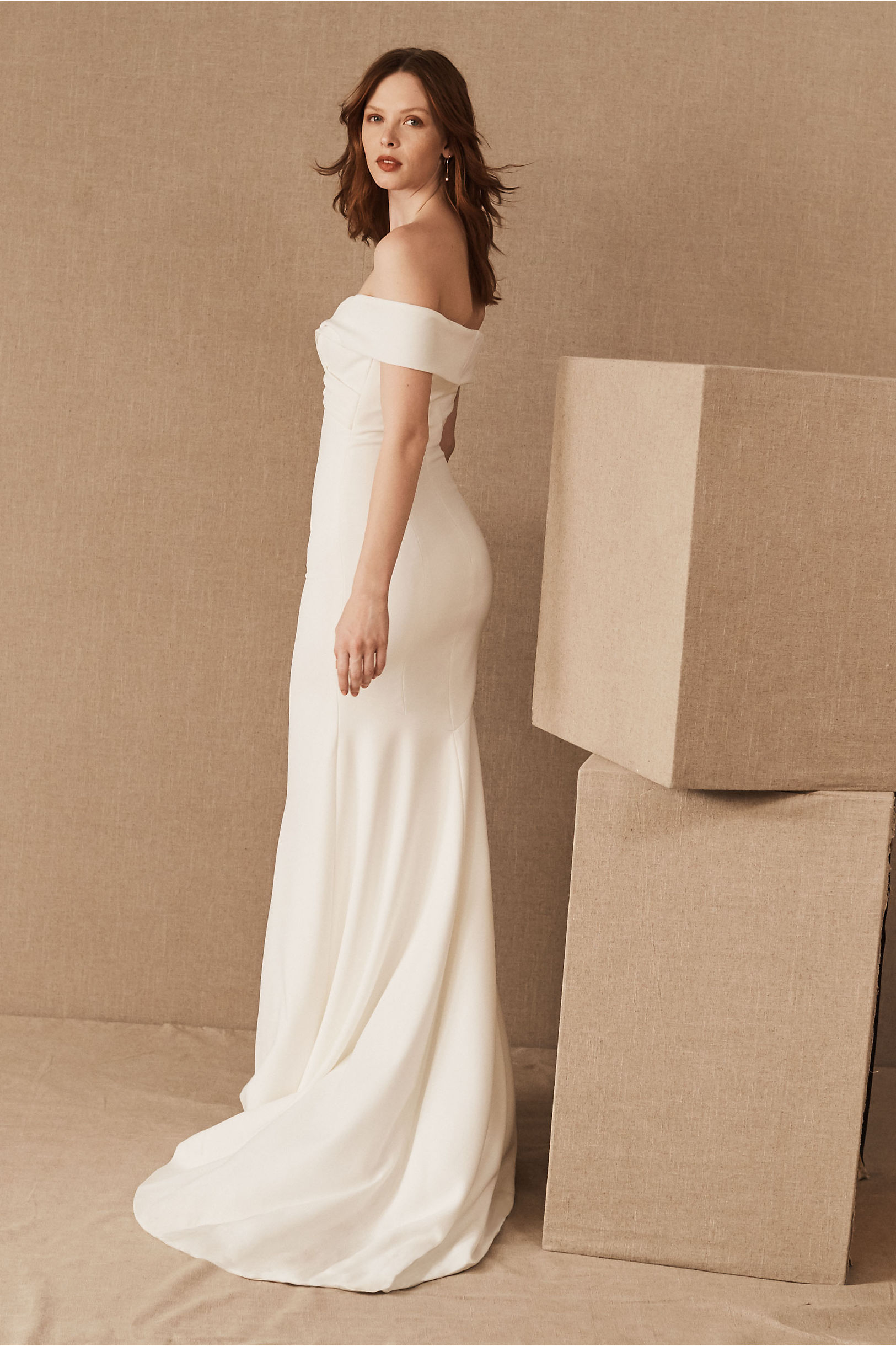 Blake Gown Ivory In Bride Bhldn