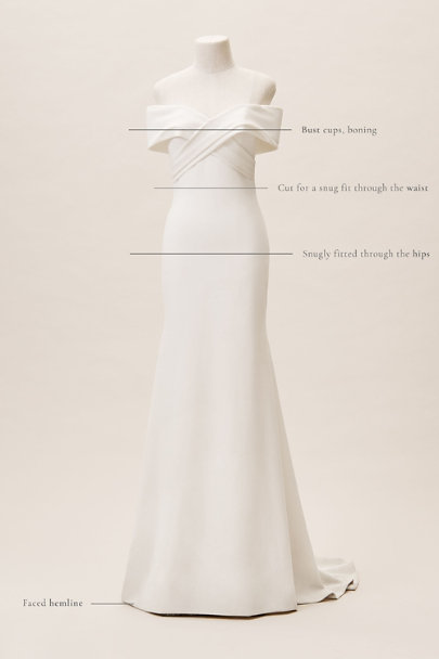 Theia Ivory Blake Gown | BHLDN