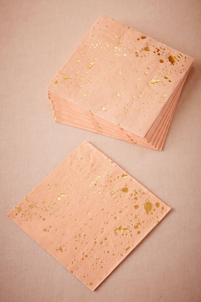 Pink Square Speckled Napkins (20) | BHLDN