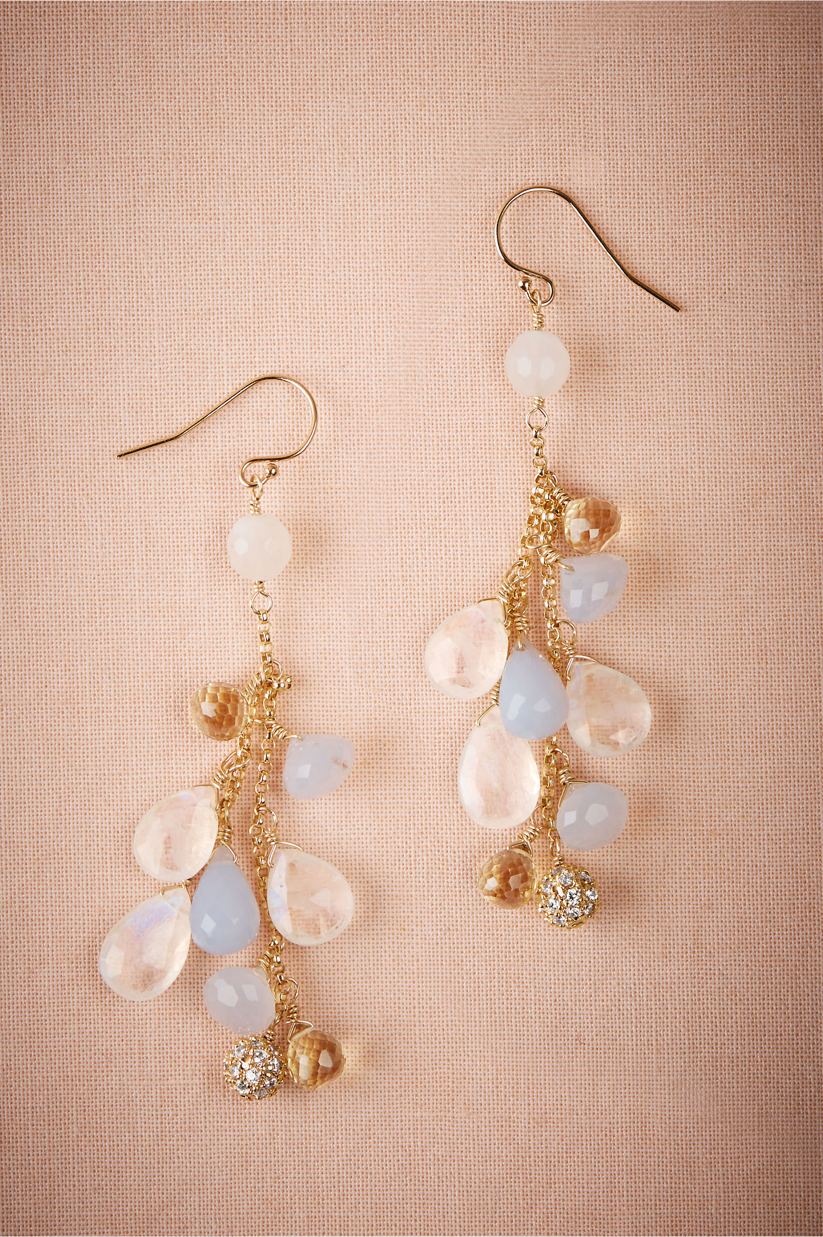 Cecilia chandelier earrings in sale bhldn gold cecilia chandelier earrings bhldn aloadofball Image collections