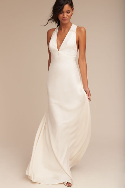 Jill Jill Stuart Ivory Nadine Dress | BHLDN
