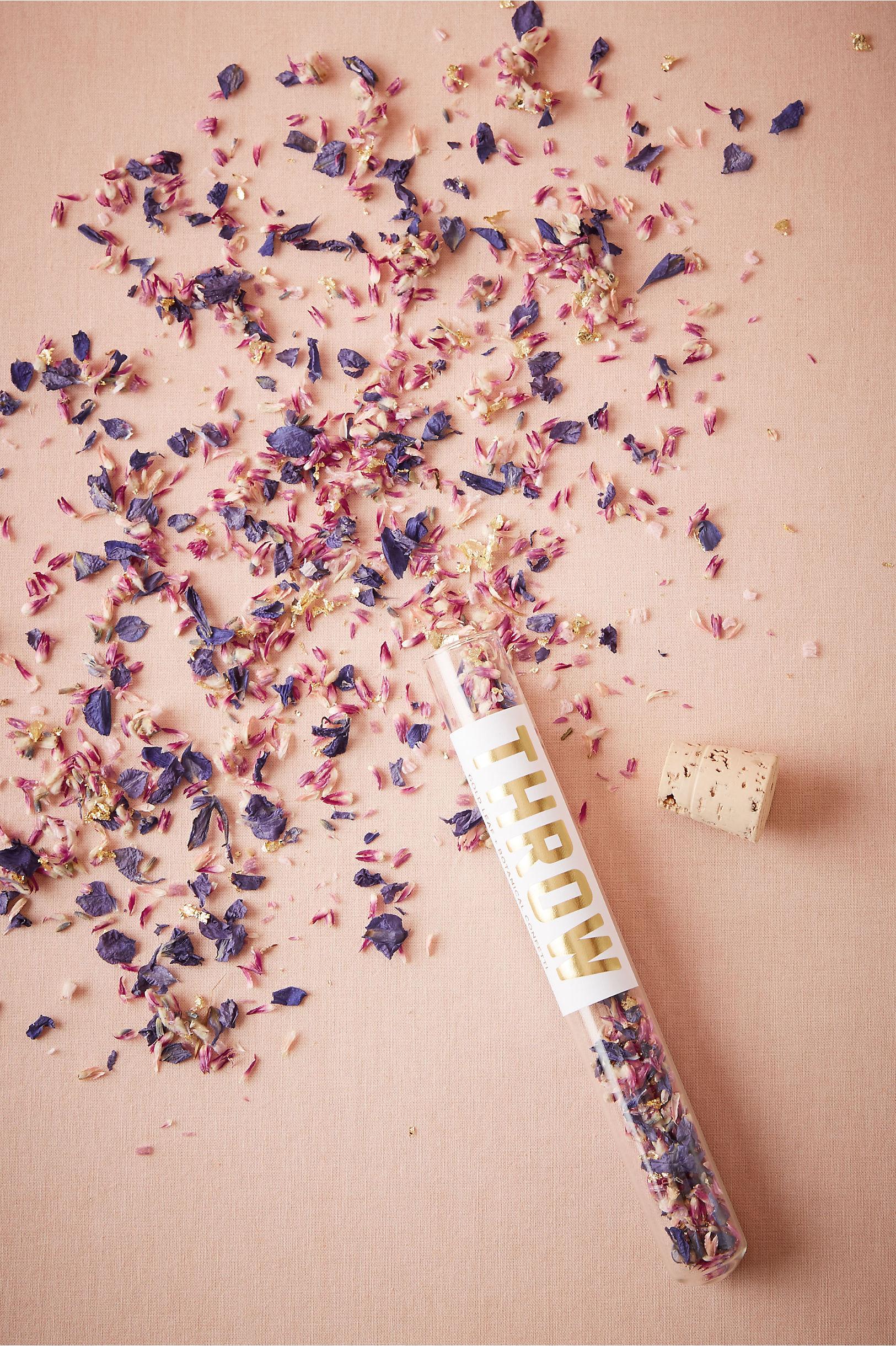 Eco-Friendly Floral Confetti in Sale | BHLDN