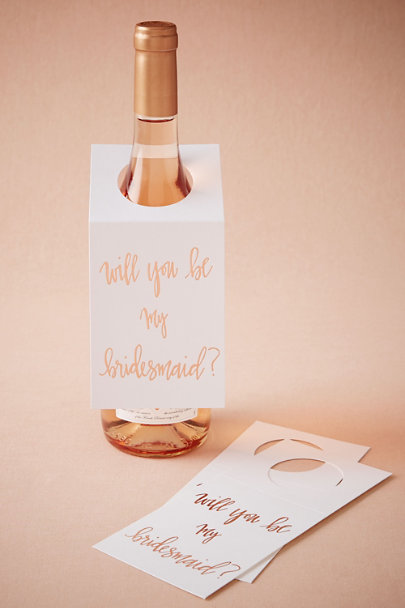 White Be My Maids Wine Topper (3) | BHLDN