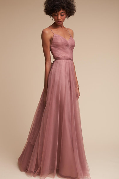 Watters Rose Quartz Tinsley Dress | BHLDN