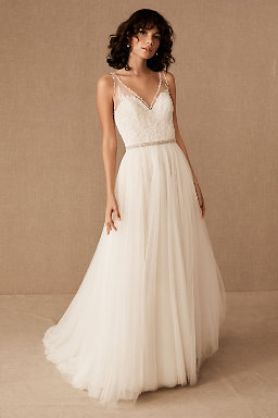 Wedding dresses gowns bhldn cassia gown cassia gown junglespirit Choice Image