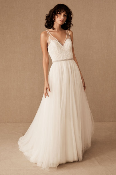 1e0acf07d02 Cassia Gown Ivory Champagne in Bride