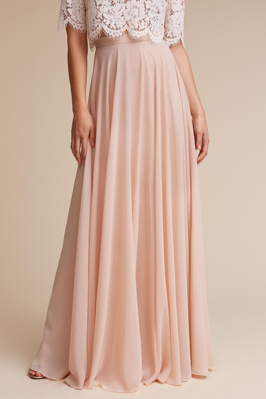 Hampton Skirt Blush In Sale Bhldn