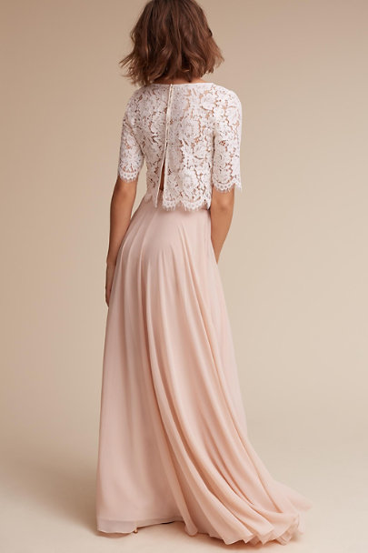 Jenny Yoo Blush Hampton Skirt | BHLDN
