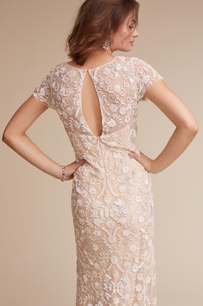 Lotus Threads Ivory/Champagne Essex Gown | BHLDN
