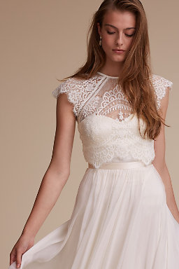 Wedding Dress Toppers | Lace Wedding Tops | BHLDN
