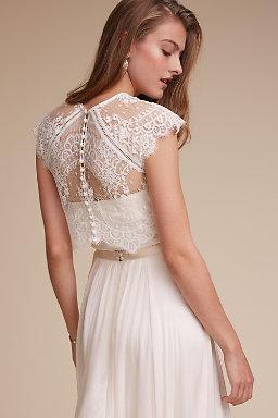 Wedding dress cover ups wedding boleros bhldn itala topper itala topper junglespirit Gallery