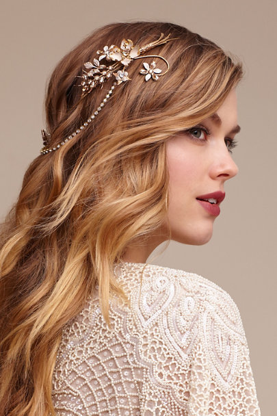 Debra Moreland Gold Everdeen Halo | BHLDN