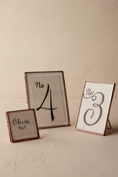 Rose Pressed Copper Frames | BHLDN