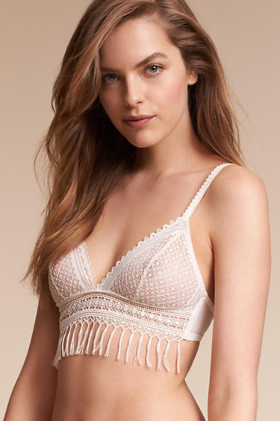 Ivory Ashbury Lace Bra | BHLDN