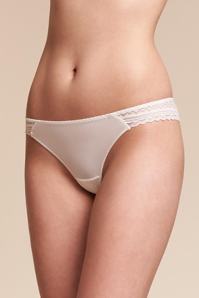 Maison Lejaby Ivory Ashbury Lace Brief | BHLDN