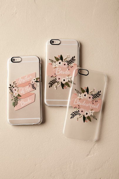 Mother of the Bride Blushing Bouquet iPhone Case | BHLDN