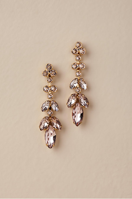 Crystal Petals Earrings