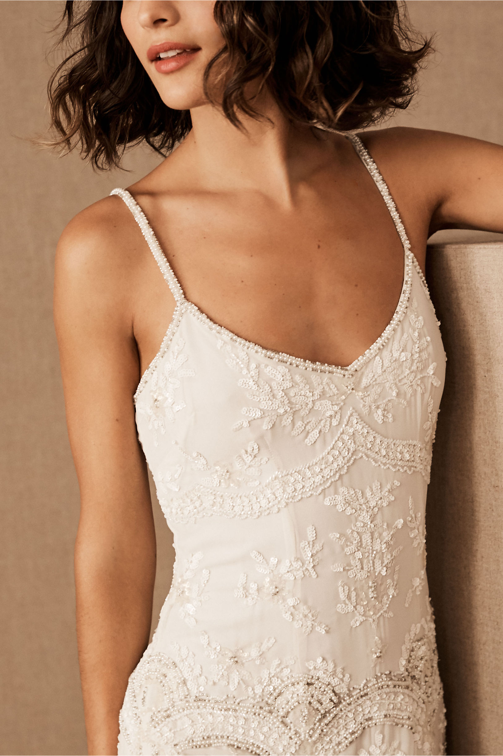 Naomi Gown Ivory In Bride Bhldn