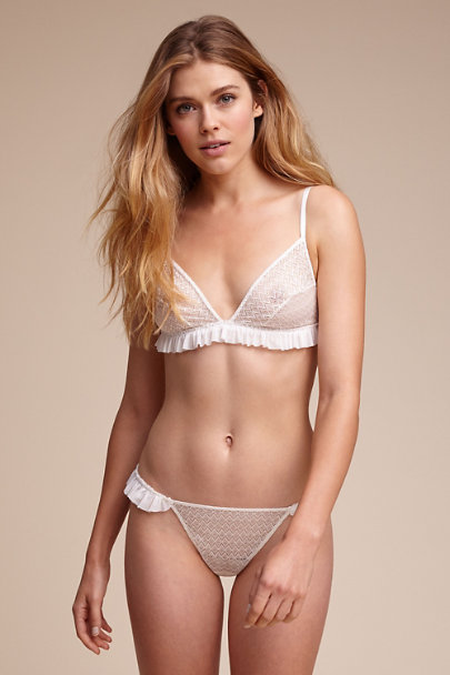 Myra Ruffle Bralette In Sale Bhldn