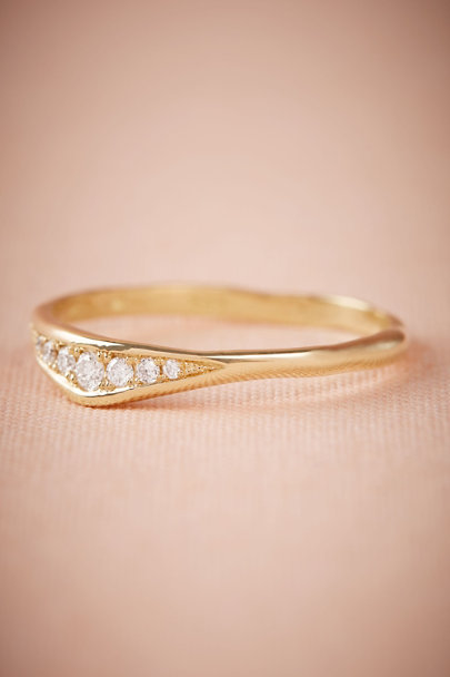 Gold Asterra Ring | BHLDN