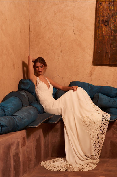 Watters Ivory Cruz Gown | BHLDN