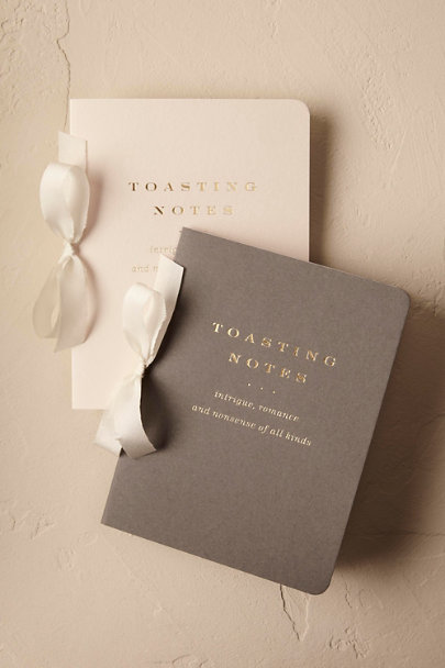 Grey Toasting Notes Journal | BHLDN