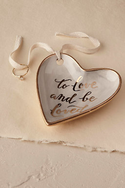 To Love and Be Loved' Ring Dish