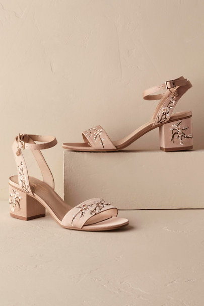 Rose Kierna Embroidered Sandal | BHLDN