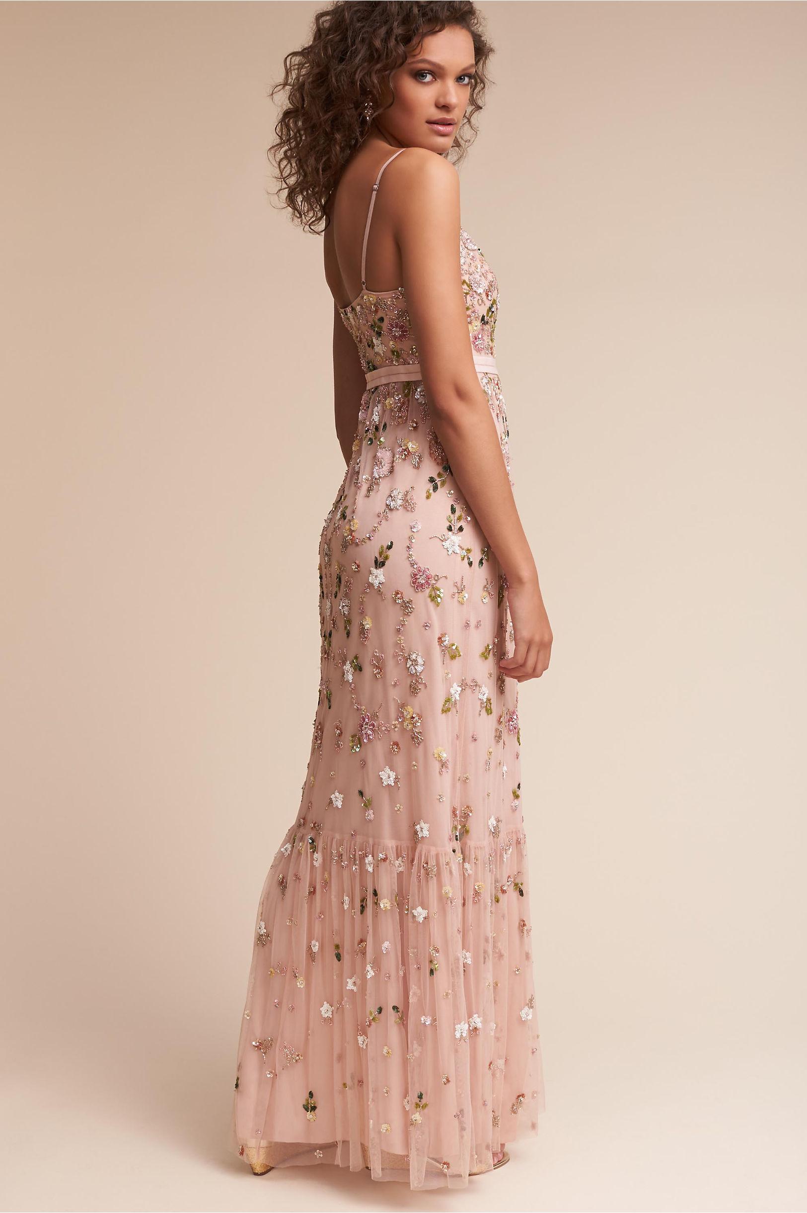 Kimya dress in sale bhldn needle thread blossom pink kimya dress bhldn ombrellifo Image collections