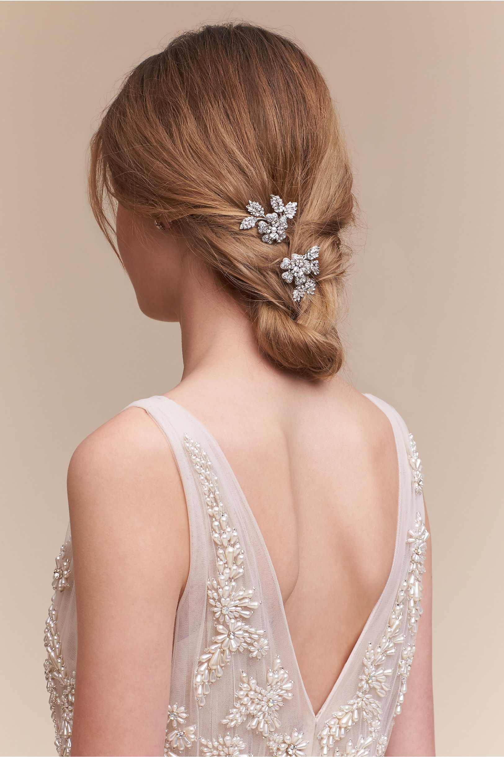 Petunia Hair Clips (2) in Sale | BHLDN