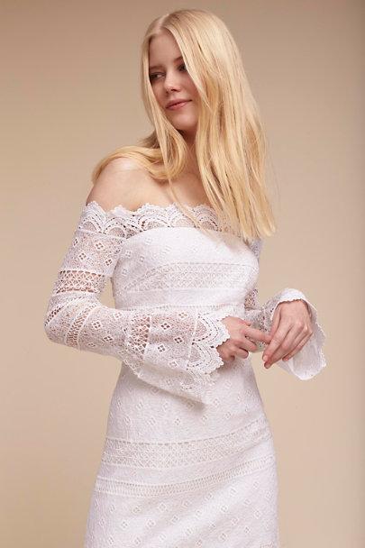 3fb43e76d909 ... Amur White Abriana Dress | BHLDN ...