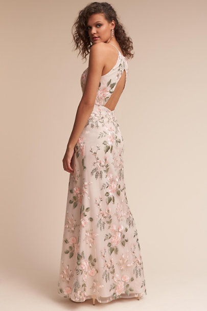 Jenny Yoo Blush Sand Dune Claire Dress | BHLDN