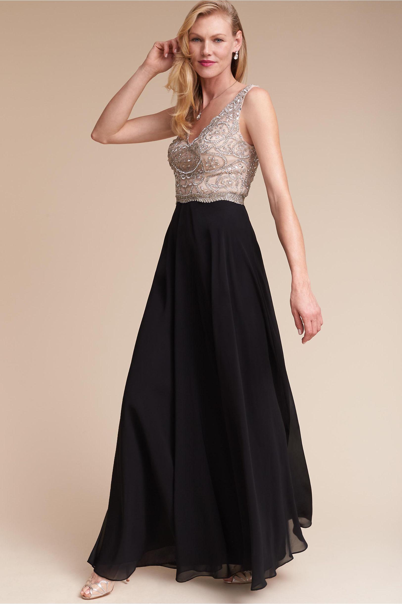 Regina Dress in New   BHLDN