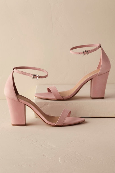 Schutz Blush Alicia Heels | BHLDN