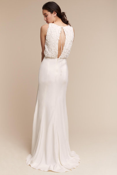 Something Bleu Ivory Imogene Gown | BHLDN