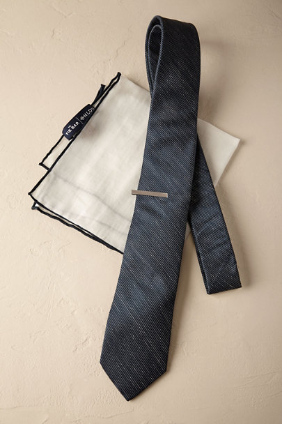 Tie Bar Navy Tie Bar Accessory Set | BHLDN